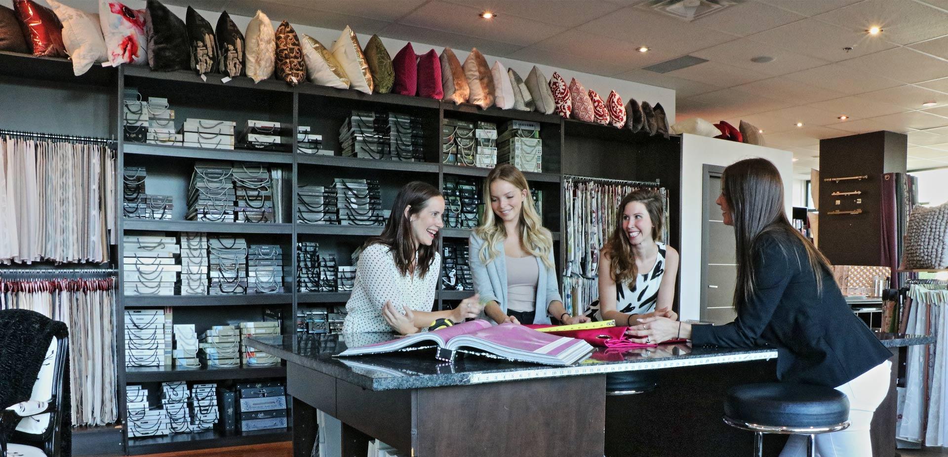 La Maison Du Dressing welcome to our curtain store in montreal! - maison du beau